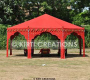 Indian Ottoman Tent